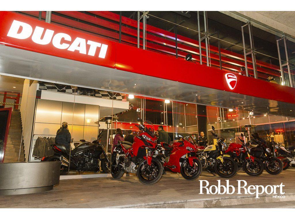 La rugiente apertura de Ducati Interlomas