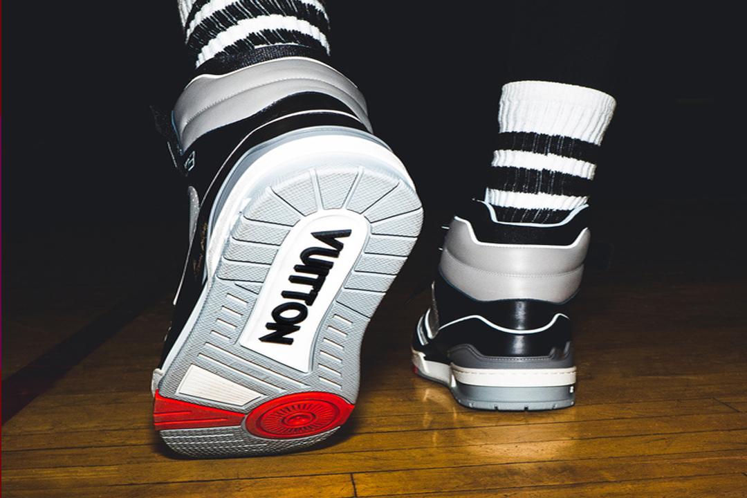 7e35012cc LV TRAINER, las nuevas zapatillas de baloncesto de Louis Vuitton