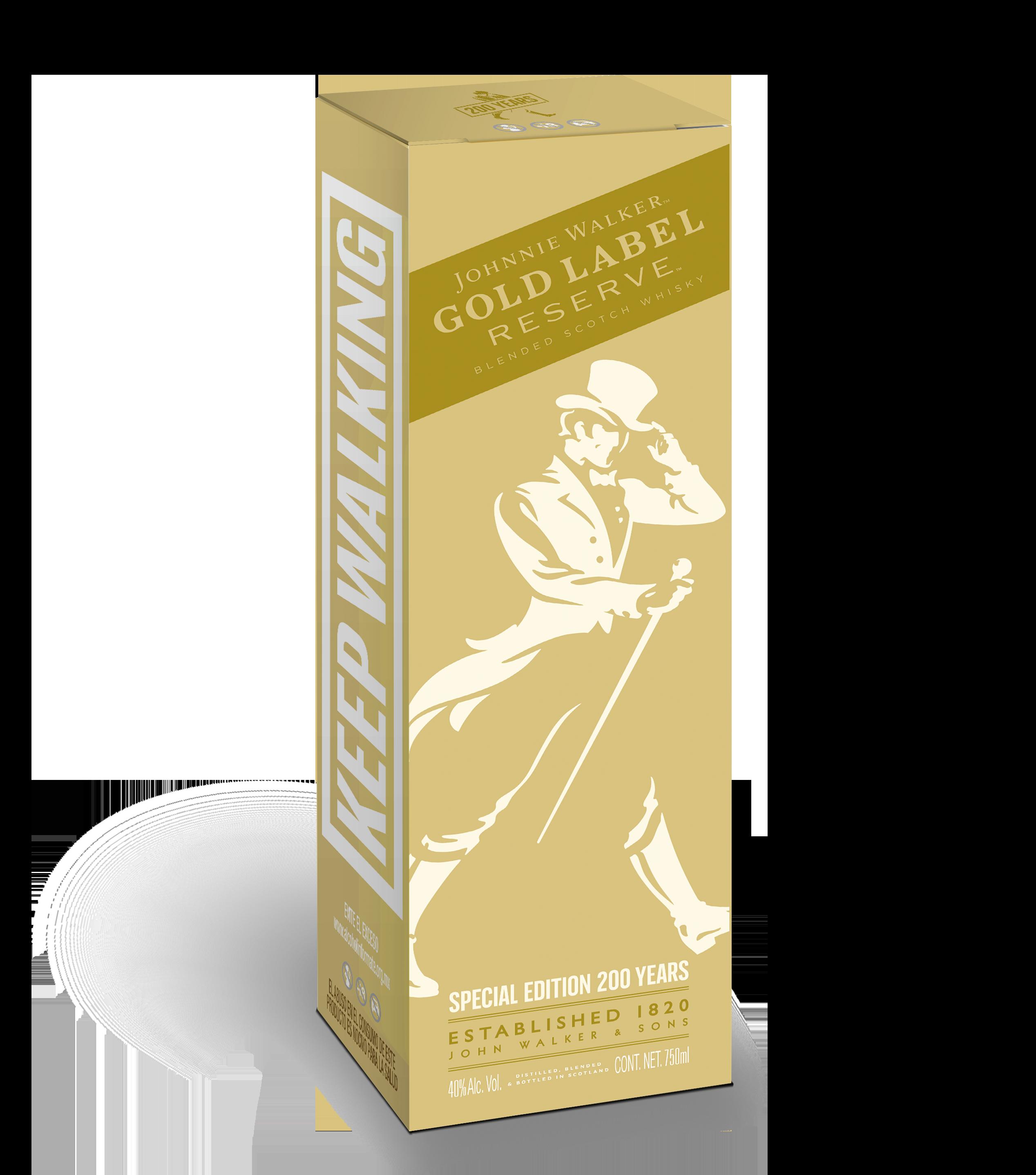 Johnnie Walker Gold Label 200th