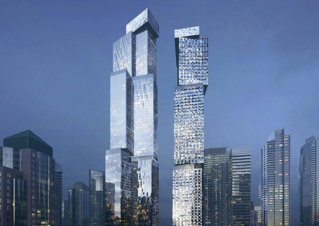 Con un diseño futurista y caprichoso, así es como Frank Gehry intervendrá las calles de Toronto