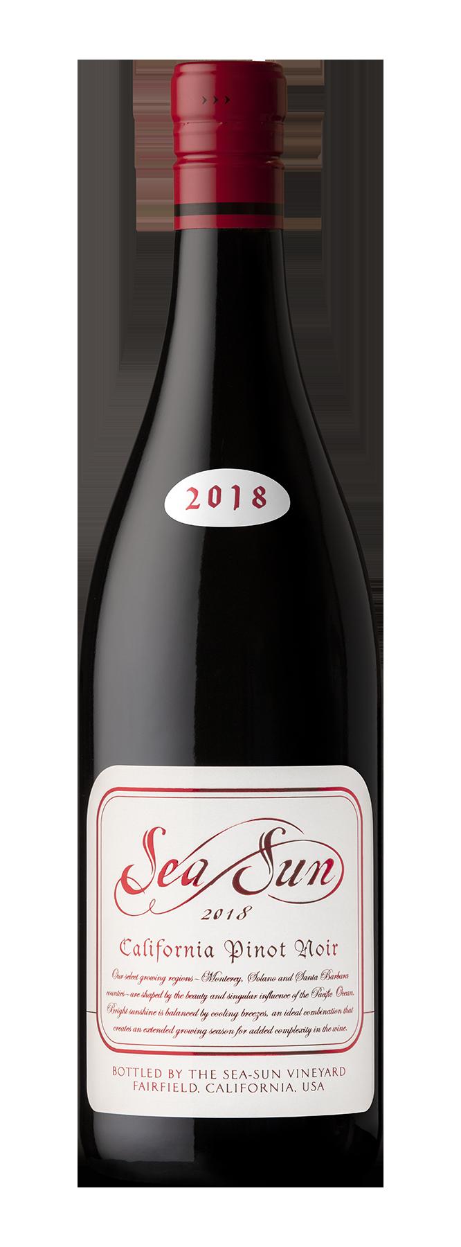 Sea Sun Pinot Noir – Vino tinto Pinot Noir 750ml.