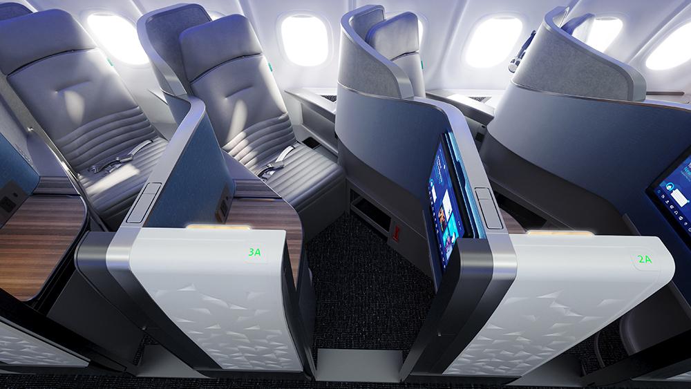 Así es la suite business class más grande -hasta ahora- cortesía de JetBlue