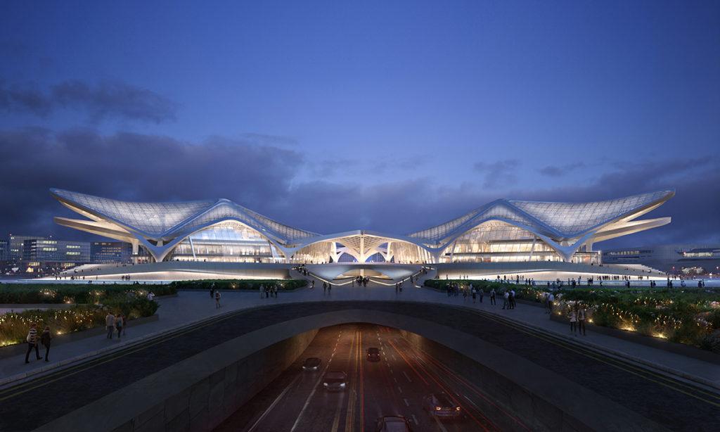 El nuevo proyecto de Zaha Hadid Architects rinde homenaje a las aves migratorias