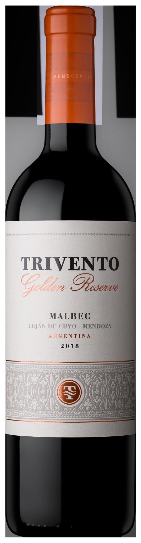 Trivento Golden Reserve – Vino tinto Malbec 750ml.