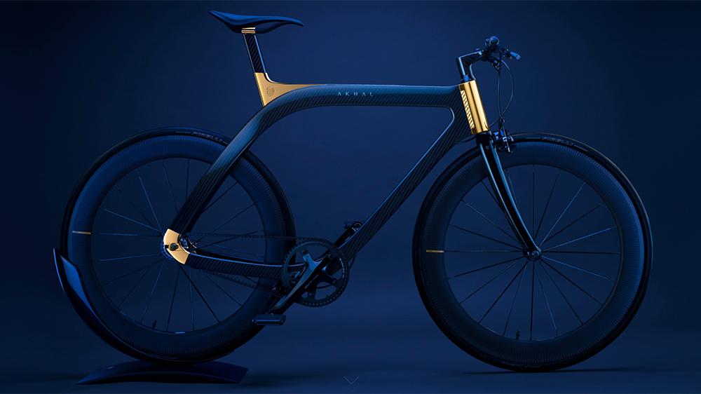 Alta joyería sobre ruedas, eso es Akhal Sheen, la bicicleta con oro de 24 quilates