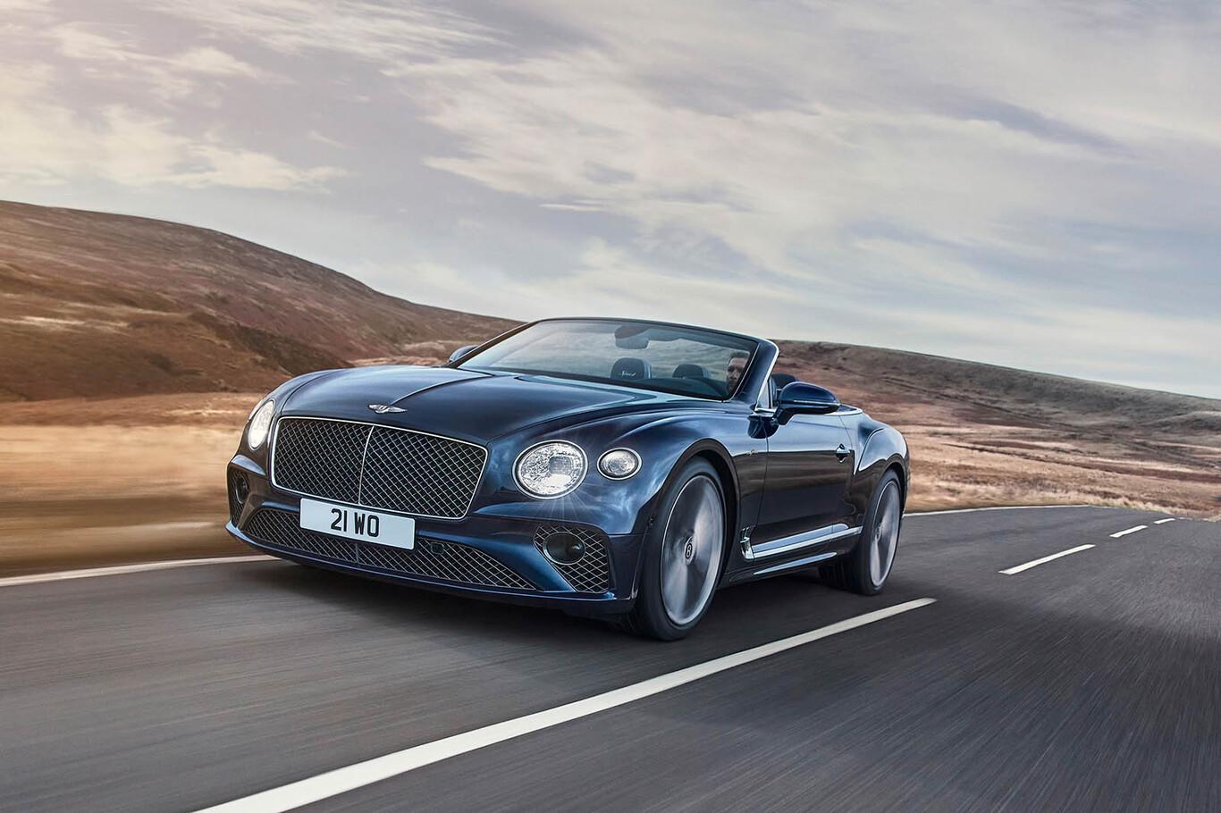 Bentley lanza Continental GT Speed, el convertible más dinámico de su historia
