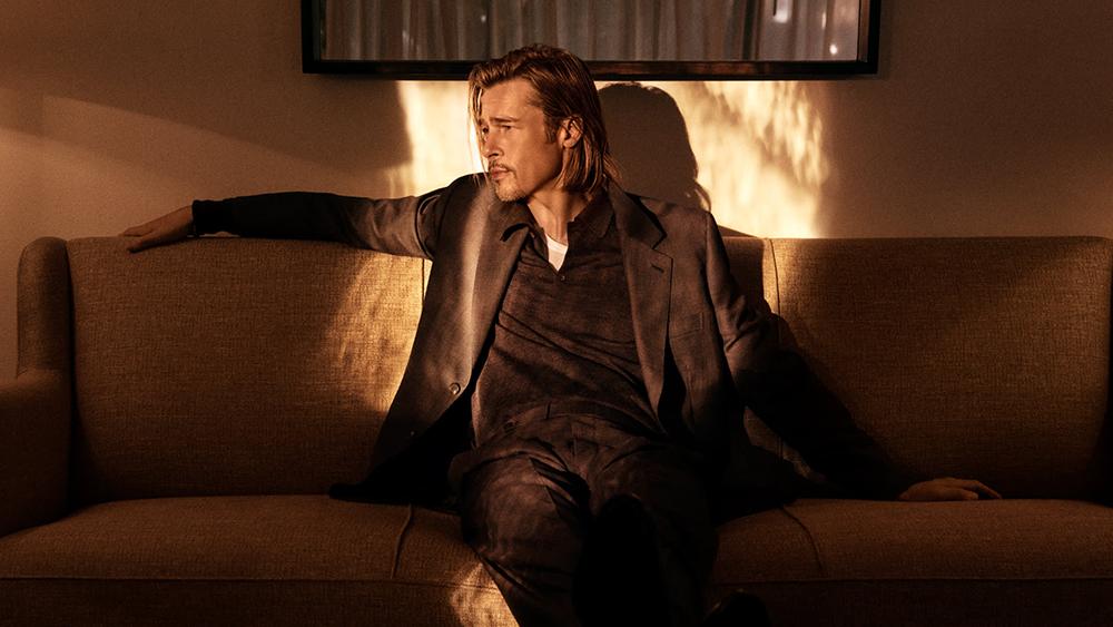Brad Pitt y Brioni se unen para una colección inspirada en el relajado estilo del actor
