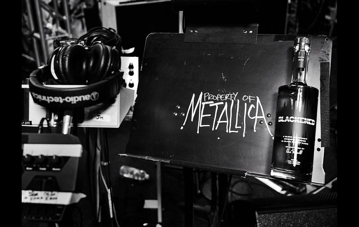 """Este whisky se envejeció con los sonidos del """"Album Negro"""" de Metallica"""