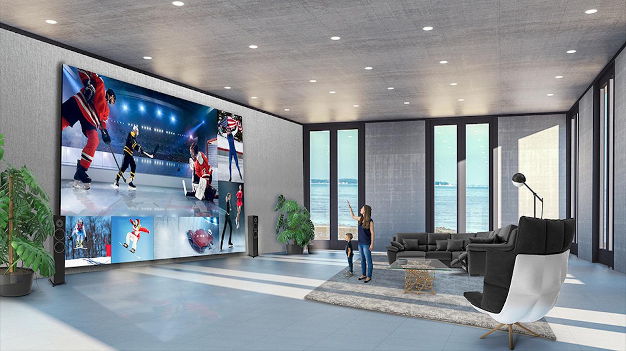 La pantalla Extreme Direct View LED de LG te lleva el cine a casa por 1.7 mdd