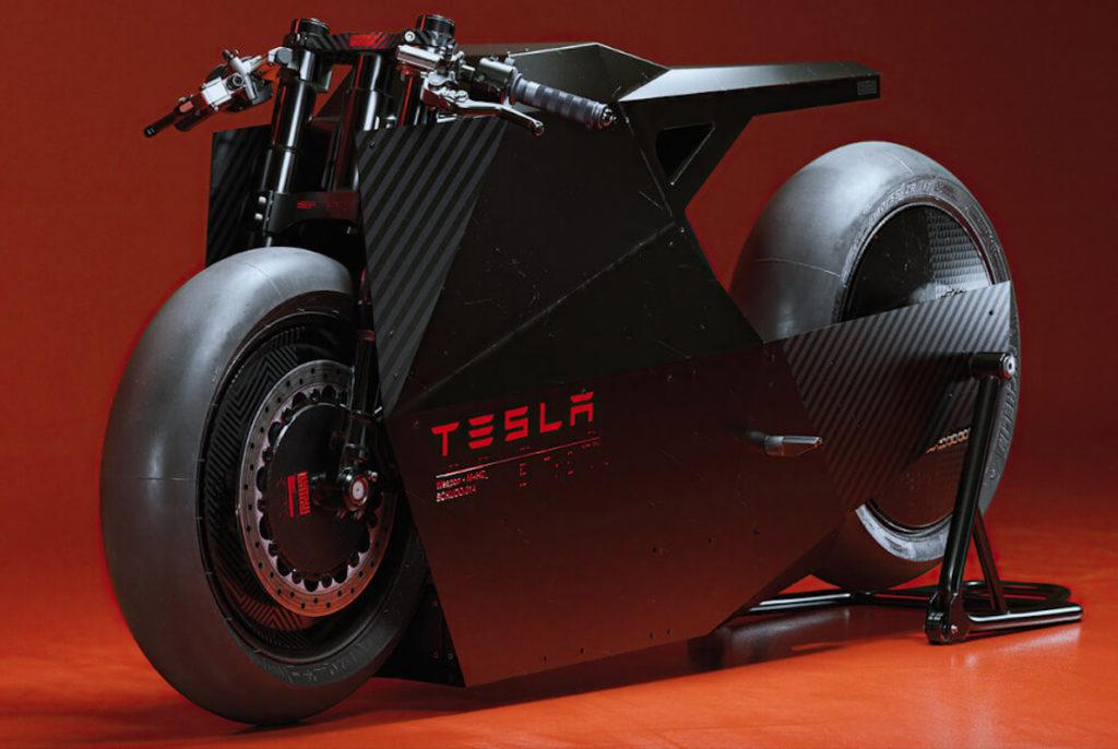 Así es «The Soduko», la motocicleta inspirada en la Cybertruck de Tesla