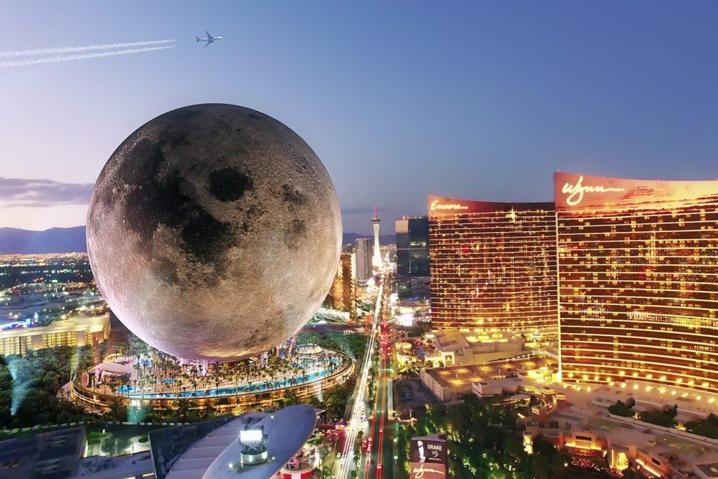Las Vegas tendrá su propia réplica de la Luna: Moon Resort