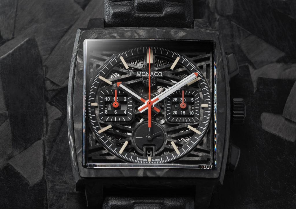 TAG Heuer subastará una versión única de su cronógrafo de caja cuadrada: Only Watch Carbon Monaco