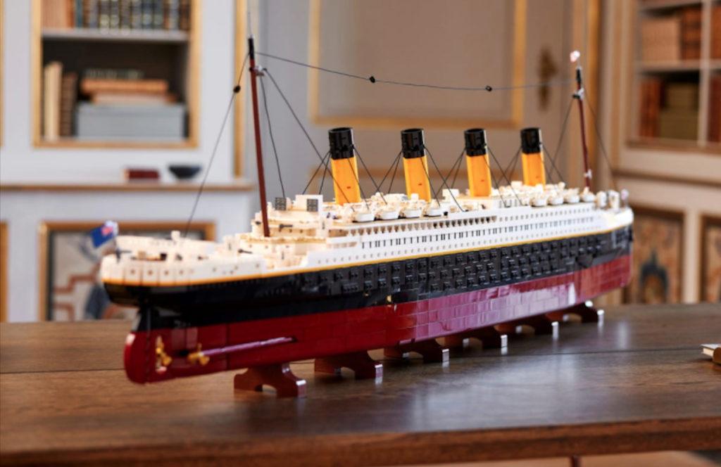 Contundentemente grande e impresionante, así es el set de Lego del Titanic de 9,090 piezas