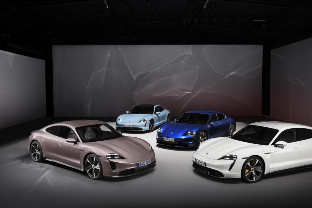 Porsche México presenta dos nuevas versiones del icónico Taycan, 100% eléctricas